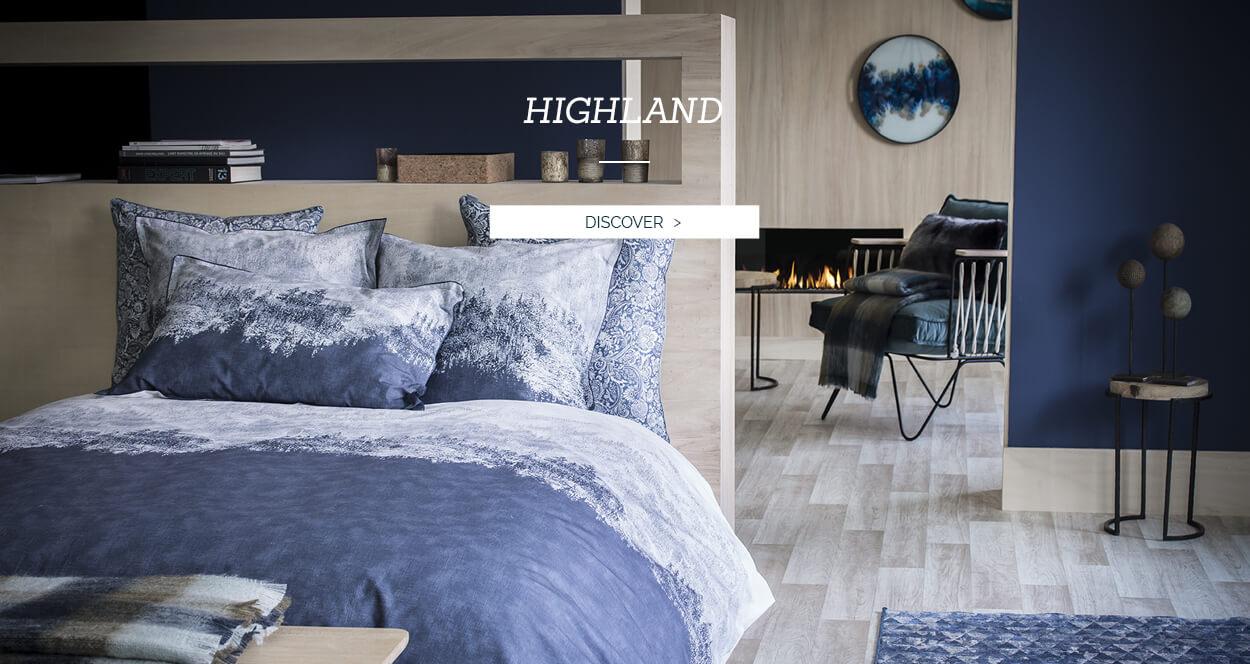 Highland Duvet Set - Alexandre Turpault Luxury Bed Linen