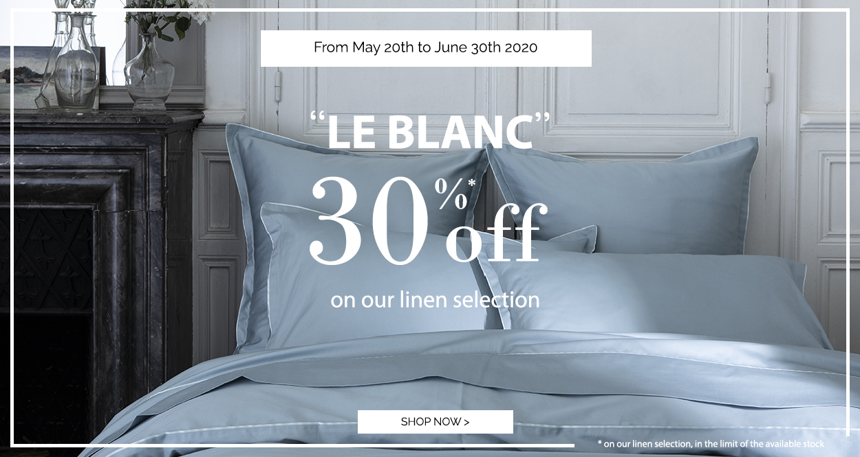 LE BLANC: Up to 30% off on our selection!