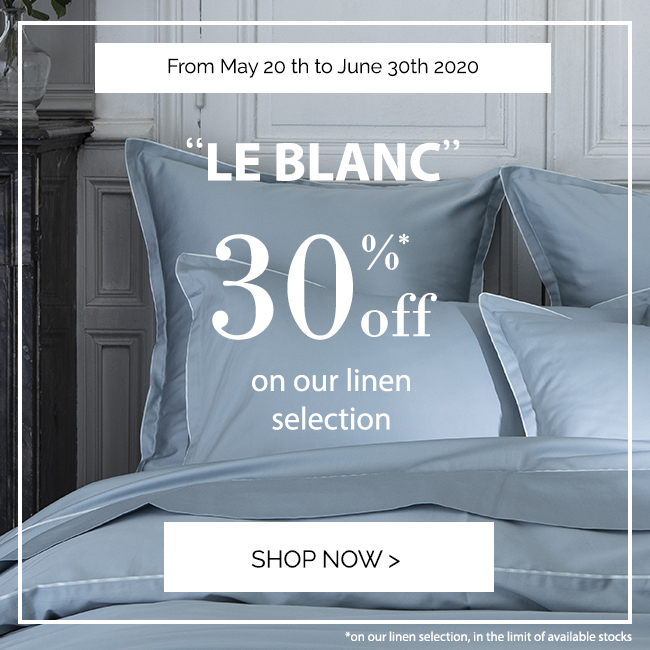 'LE BLANC: Up to 30% off on our selection!