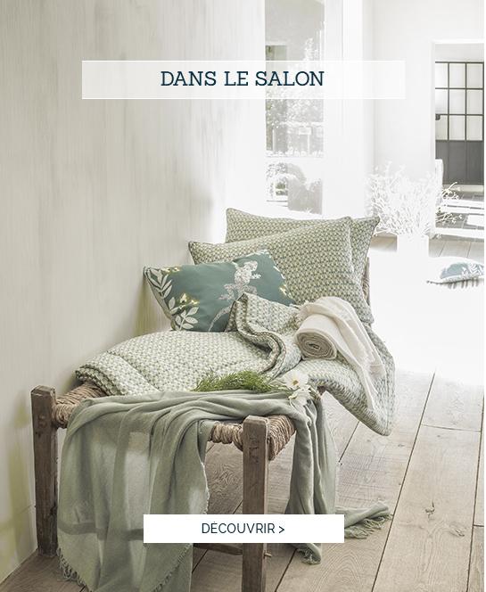 Accessoires pour la maison, coussin décoration luxe, couvre-lit haut de gamme - Dans le salon