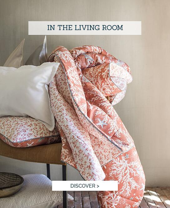 Luxury linen set  - In the living room