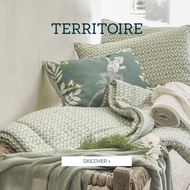 TERRITOIRE Set - Alexandre Turpault Luxury Bed Linen