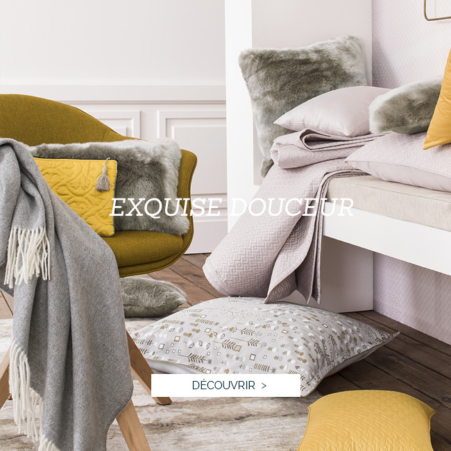 NOUVELLE COLLECTION AUTOMNE-HIVER 2018 Alexandre Turpault : Découvrez le nouveaux coloris de la parure de lit en satin de coton TEO, linge de lit luxe