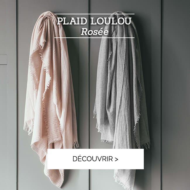 Plaid Loulou : pour des moments calins >