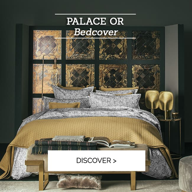 PALACE or: bedcover >