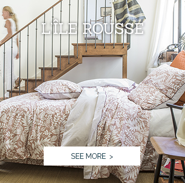 ILE ROUSSE: Our beautiful new bedset >
