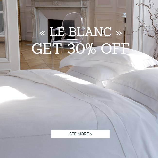 LE BLANC - High quality Bed Linen Promotion