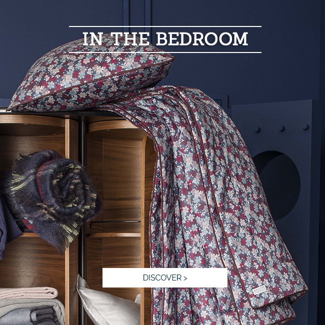 IN THE BEDROOM | Discover  Fancy high quality accessories linen