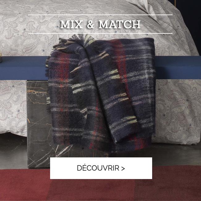 Succombez à notre plaid TARTAN en mohair qui s'associera parfaitement avec votre linge de lit