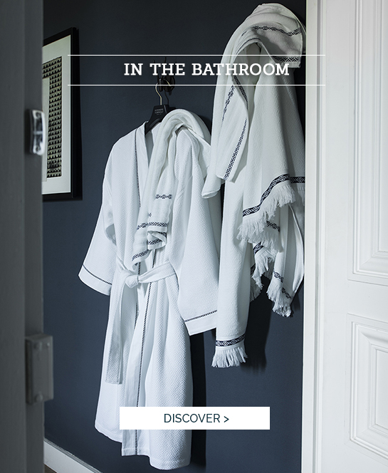 IN THE BATHROOM | Discover BELEM, high quality bath linen
