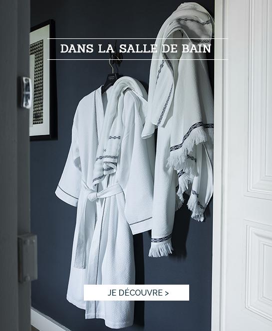 DANS LA SALLE DE BAIN | Découvrez BELEM, linge de bain haut de gamme