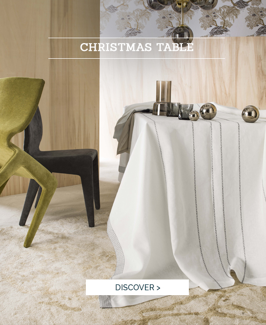 IN THE DINING ROOM | Succom, high quality table linen