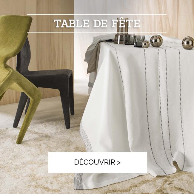 PRÉPAREZ VOTRE TABLE DE FÊTE | Découvrez notre sélection de linge de table