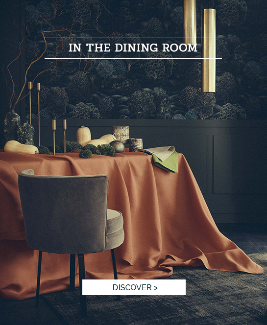 IN THE DINING ROOM | Florence: Succomb to our new colors, high quality table linen
