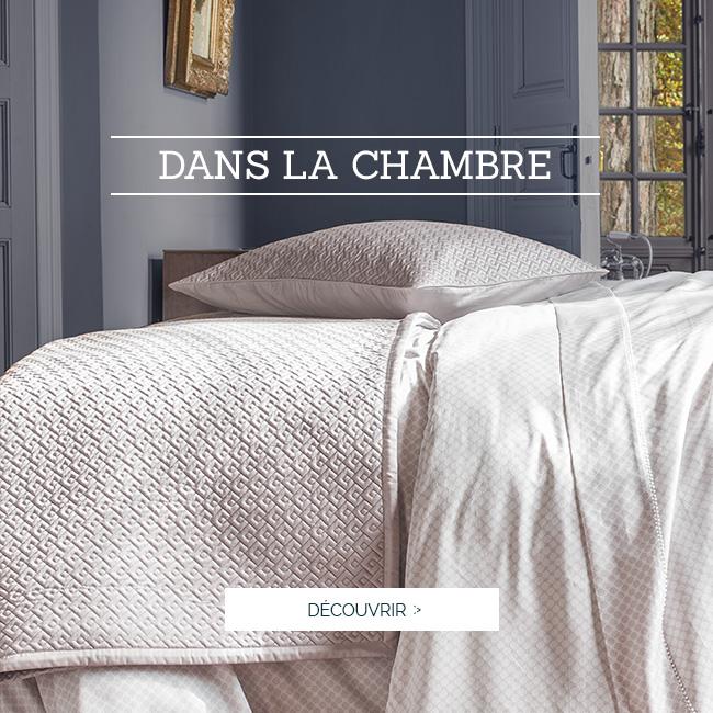 POUR LA CHAMBRE | Découvrez notre couvre-lit Palace, disponible dans plusieurs coloris