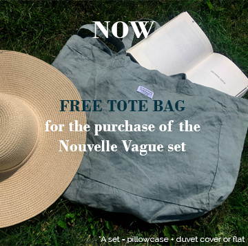 FREE TOTE BAG for the purchase of the Nouvelle Vague Set