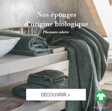 ESSENTIEL : notre gamme de linge de bain haut de gamme certifiée Label GOTS >