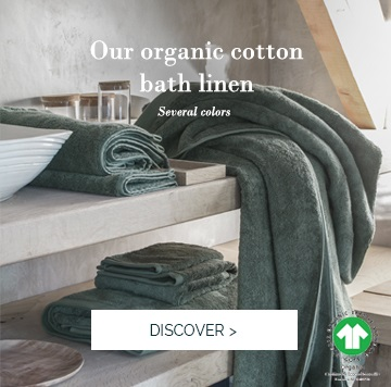 ESSENTIEL | Discover our high-end range of bath linen, certified GOTS >