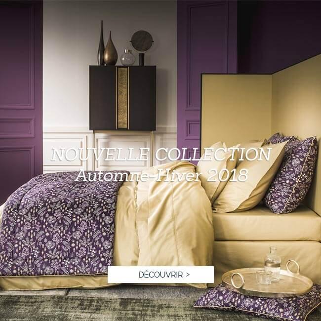 NOUVELLE COLLECTION AUTOMNE-HIVER 2018 Alexandre Turpault : Découvrez le nouveaux coloris de la parure de lit en satin de coton TEO