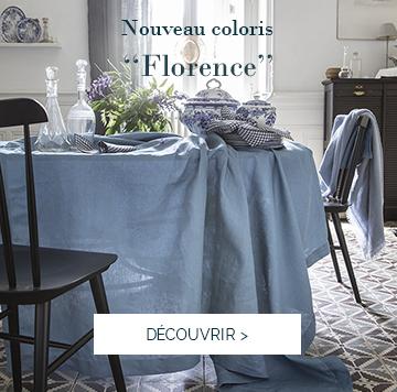 Découvrez le nouveau coloris de notre gamme FLORENCE et sublimez votre table !