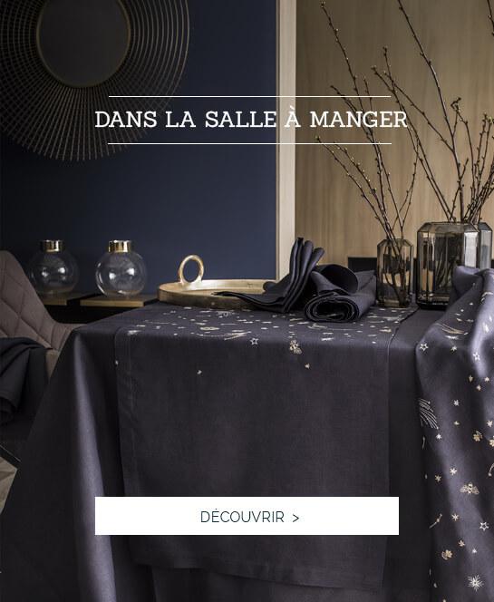 Linge de table de luxe - Dans la salle à manger
