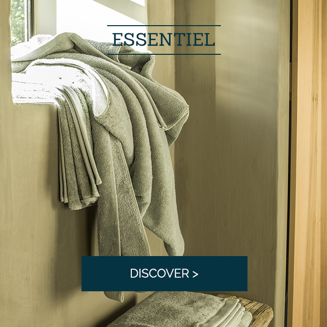 Essentiel: Our sweet bath linen certified GOTS >