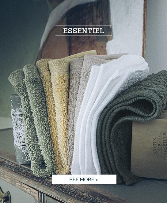 Essentiel: Our sweet bath linen certified GOTS >
