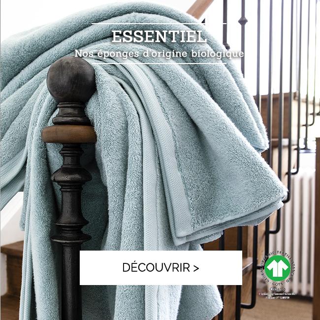 Découvrez notre nouveau coloris de la gamme ESSENTIE, certifié coton biologique  >