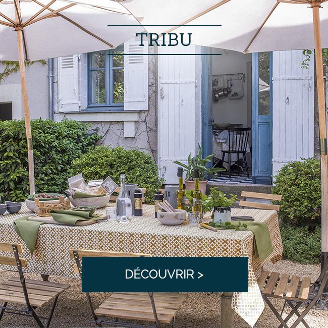 TRIBU : Hommage aux savoir-faire en tressage et cannage typique du style vintage >