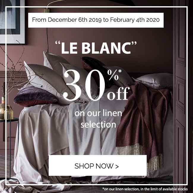 LE BLANC: Get 30% off on our selection!