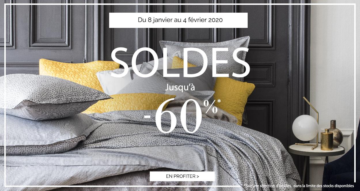 SOLDES D'HIVER : Jusqu'à -60% sur une sélection d'articles !