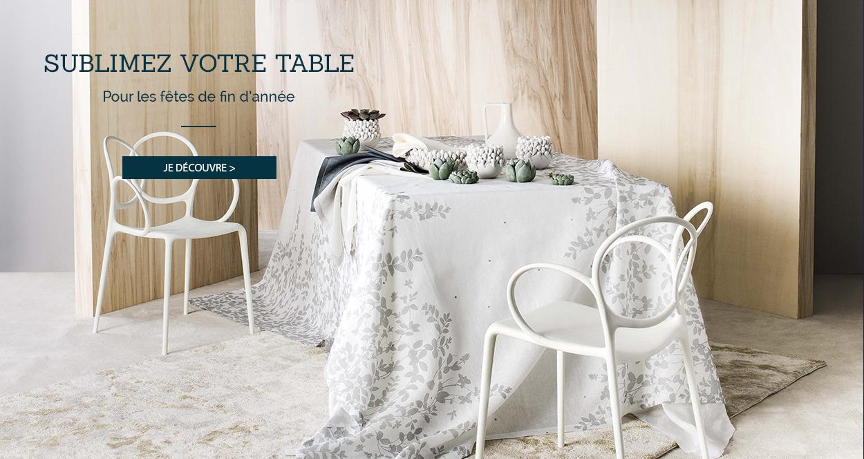 Sublimez votre table pour les fêtes de fin d'année !