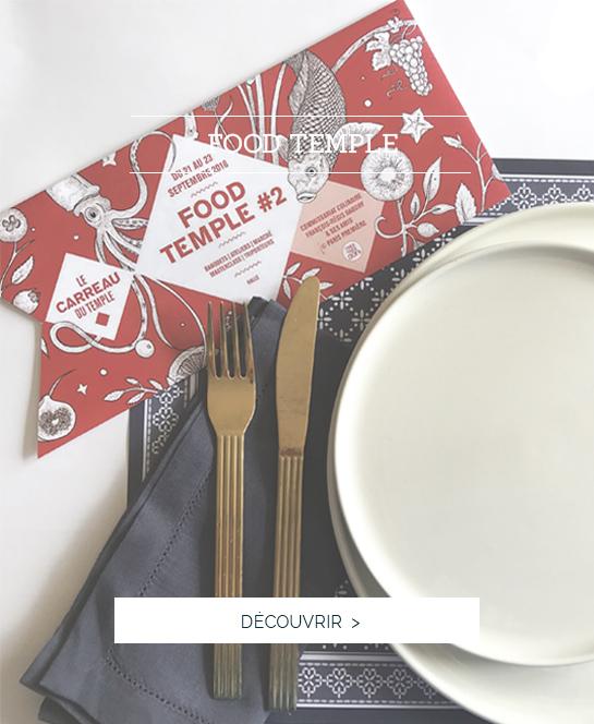 Alexandre Turpault partenaire de food temple, linge de table luxe, nappe haut de gamme