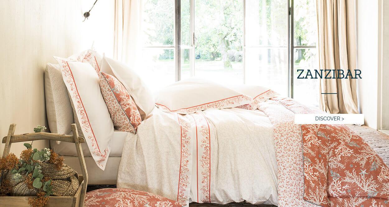 Zanzibar Duvet Set - Alexandre Turpault Luxury Bed Linen