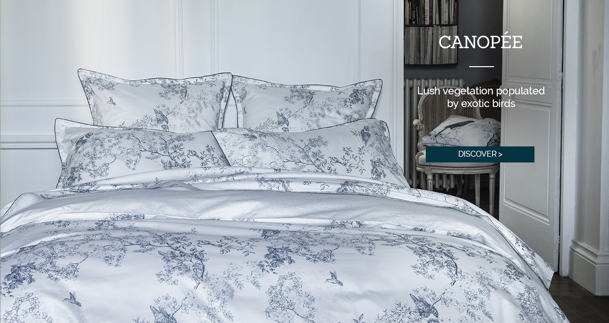 CANOPÉE, our beautiful sateen bedset!
