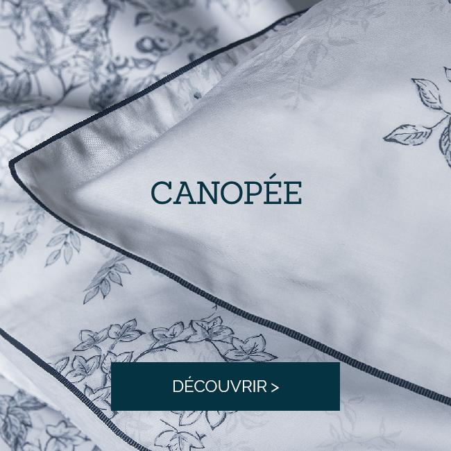 CANOPÉE : Succombez à notre nouvelle parure en satin de coton >