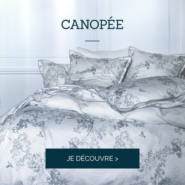 CANOPEE : notre linge de lit haut de gamme !