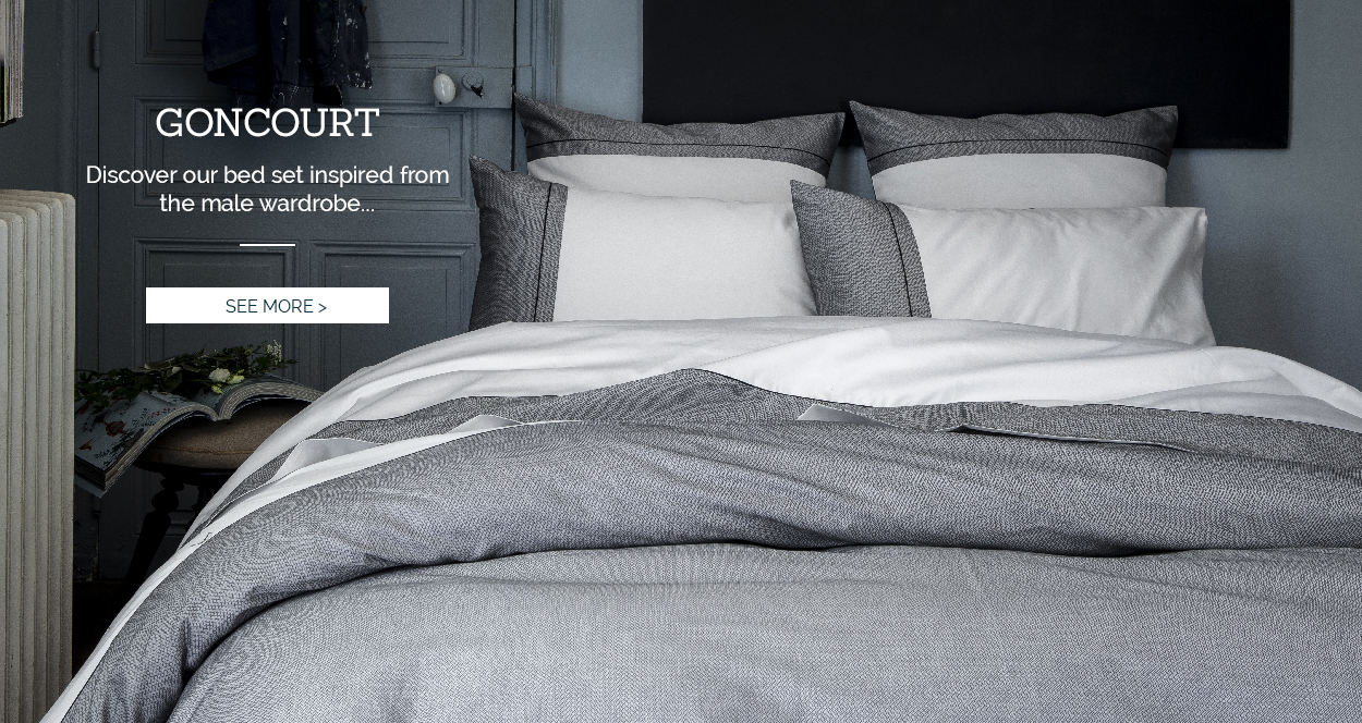 GONCOURT: Our new high-end bed set >