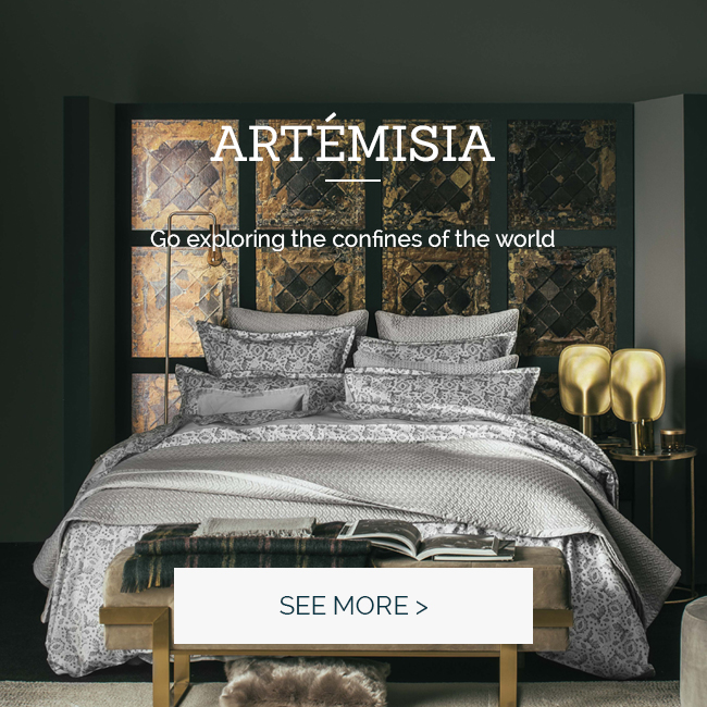 ARTEMISIA: discover our new duvet set in cotton sateen