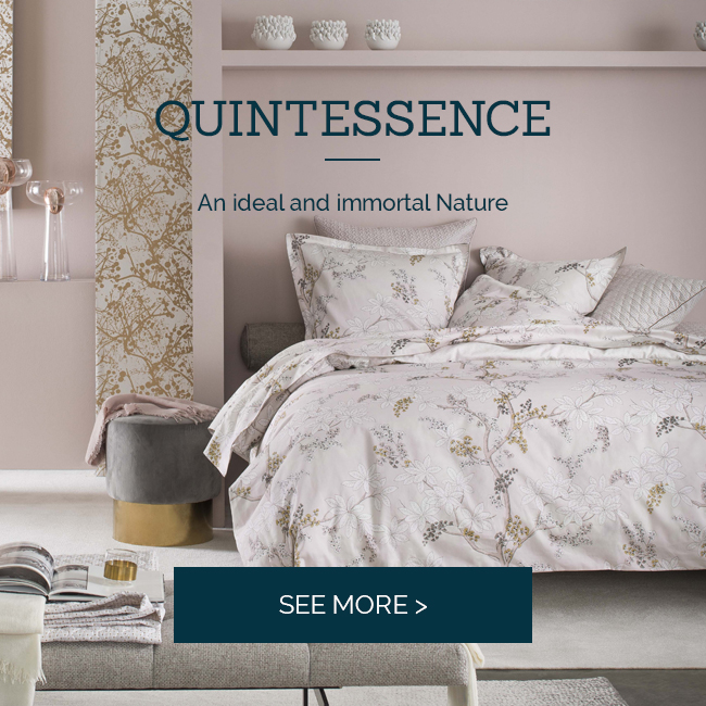 Discover Quintessence, high quality bed linen
