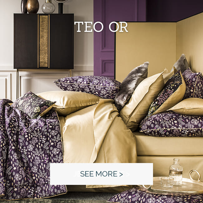 TEO: Our essential plain sateen bed set  >