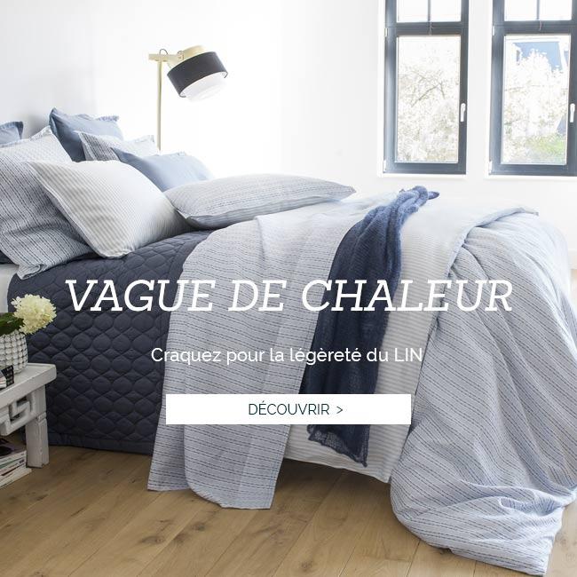 Parure de lit de luxe en satin de coton 120 fils et lin européen, linge de lit luxe