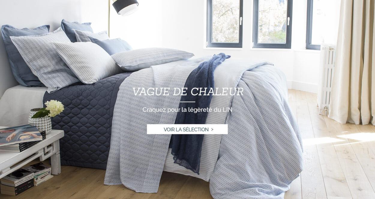 Parure de lit de luxe en satin de coton 120 fils et lin européenlinge de lit luxe