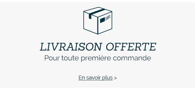Livraison Gratuite pour toute première commande en France Métropolitaine