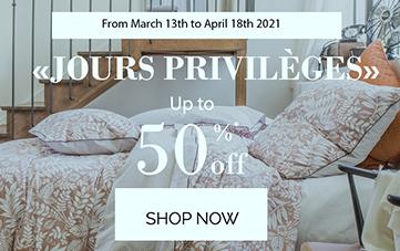 Discover our 'Jours privilèges'