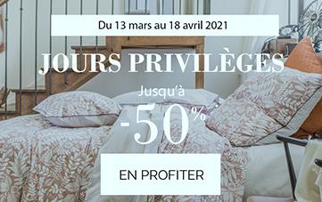 Découvrez les jours privilèges