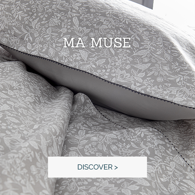 'Ma muse, our beautiful sateen bedset
