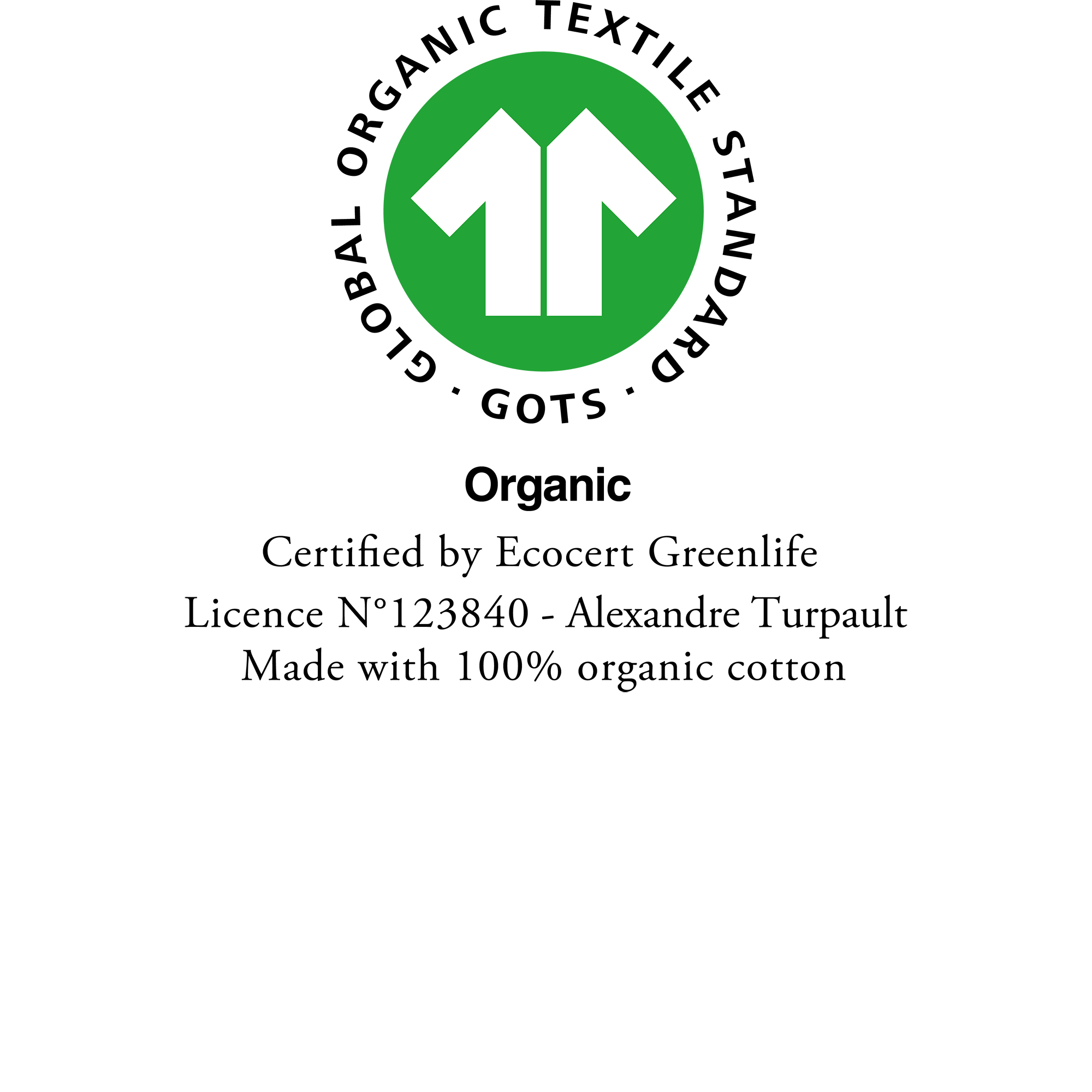Luxury bath linen from organic farming