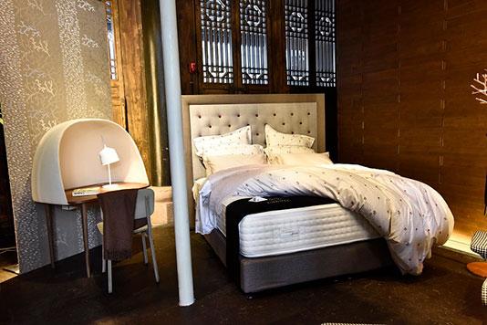 clos luce cotton sateen bed set