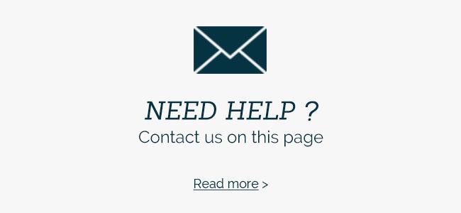 Need help ? Contact-us !